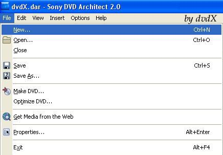 04305cfe86 Sony DVD Architect 2.0 - dvdX Tippek-Trükkök